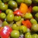 Olives vertes sauce andalouse
