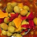 Olives vertes andalouses pimentées