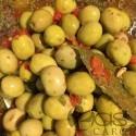 Olives Vertes sauce Tchermela
