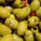 Olives Vertes Dénoyautées Albahaca