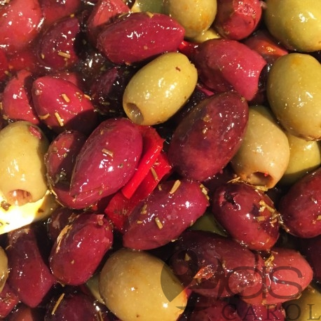 Olives Cocktail Méli-Mélo Pimentées