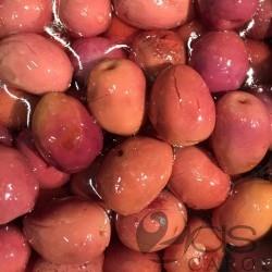 Olives tailladées violettes