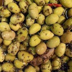 Olives vertes sauce SIGALOU