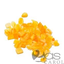 Orange confite en Cube