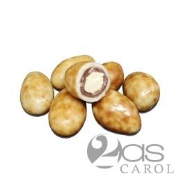 Amandes enrobées de Chocolat gout Tiramisu
