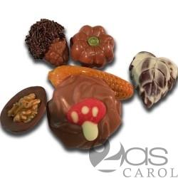 Plateau de Fruits de la Forêt chocolatés