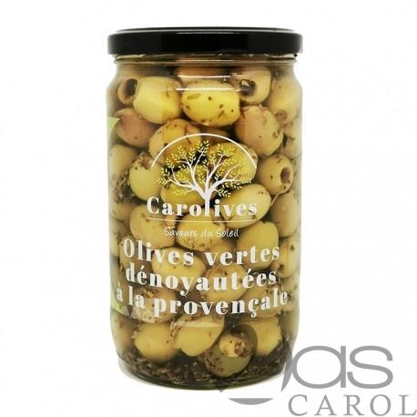 Olives Dénoyautées à la Provençale Bocal 320g