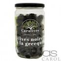 Olives Noires Façon Grèce Bocal 400g