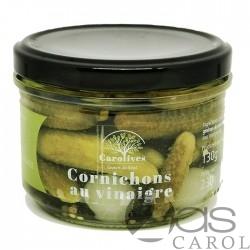 Cornichons aux Vinaigres Bocal 130g