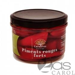 Piments Rouges Forts Bocal 130g